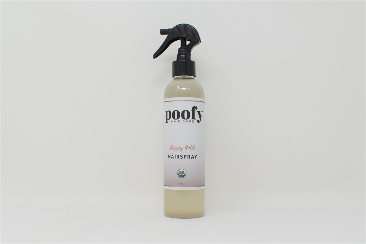 Picture of Happy Hold Hair Spray Organic